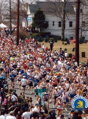 Boston Marathon 2004